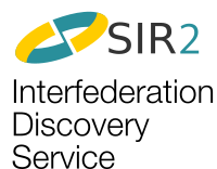 SIR2 Interfederation discovery service